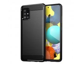 Husa Spate Upzz Carbon Pro Samsung Galaxy A31, Negru