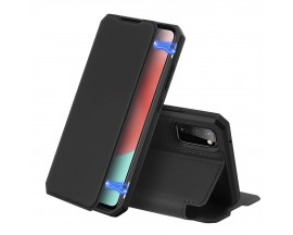 Husa Premium Duxducis Skin X  Flip Cover Samsung Galaxy A31, Negru