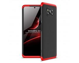 Husa 360 Grade Upzz Protection Xiaomi Poco X3 Nfc -Negru Rosu