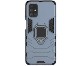 Husa Spate Upzz Ring Armor Hybrid Samsung Galaxy M31s, Albastru