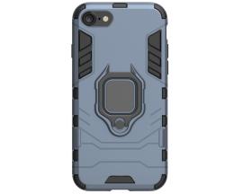 Husa Spate Upzz Ring Armor Hybrid iPhone 7 / 8 / SE 2020, Albastru