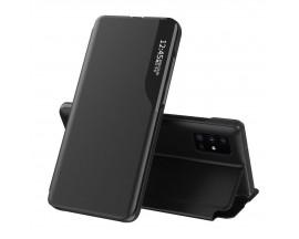Husa Tip Carte Upzz Eco Book Compatibila Cu Samsung Galaxy A51, Piele Ecologica - Negru