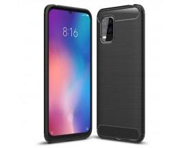 Husa Spate Upzz Carbon Pro Xiaomi Mi 10 Lite, Negru