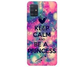 Husa Silicon Soft Upzz Print Samsung Galaxy M31s Model Be Princess