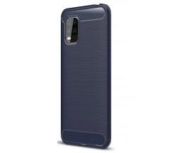 Husa Spate Upzz Carbon Pro Xiaomi Mi 10 Lite, Albastru