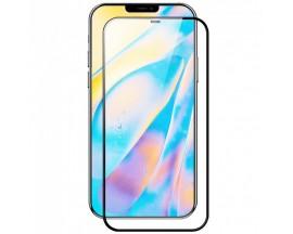Folie Protectie Ecran Hybrid Upzz Ceramic Full Glue Pentru iPhone 12 / 12 Pro, Transparenta Cu Margine Neagra