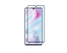 Folie Protectie Ecran Hybrid Upzz Ceramic Full Glue Pentru Xiaomi Mi Note 10 / Mi Note 10 Pro, Transparenta Cu Margine Neagra