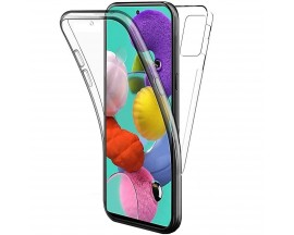 Husa 360 Grade Full Cover Upzz Case Samsung Galaxy M21, Transparenta