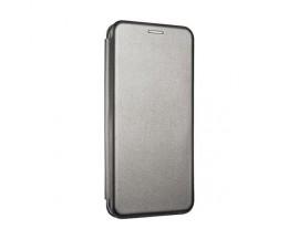 Husa Flip Carte Cu Magnet Lux Upzz Samsung Galaxy M51, Gri