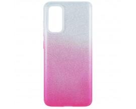Husa Spate Upzz Shiny Lux Samsung Galaxy A71, Silver Roz