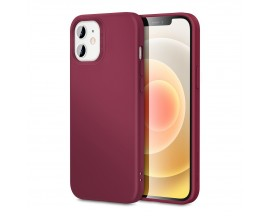 Husa Premium Esr Cloud Antishock iPhone 12 Mini, Red Wine