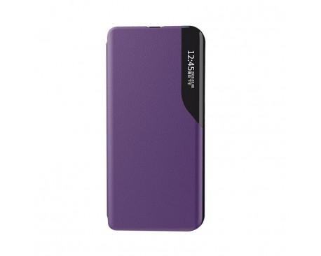 Husa Tip Carte Upzz Eco Book Compatibila Cu Xiaomi Redmi 9A, Piele Ecologica - Mov