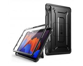 Husa Premium Originala Supcase Unicorn Beetle Pro Samsung Galaxy Tab S7+ Plus 12,4inch, Model T970 / T976, Negru