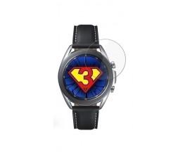 Set 3 x Folie 3mk Nano Flexible Pentru Samsung Galaxy Watch 3 45mm, Transparenta