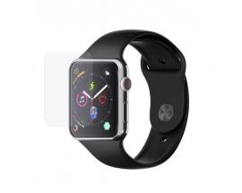 Set 3 x Folie Policarbonat 3Mk Compatibila Cu Apple Watch 4/5/6/SE 44mm, Full Cover, Transparenta