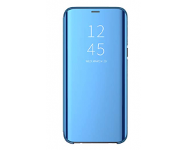 Husa Tip Carte S View Mirror Samsung Galaxy M51, Albastru