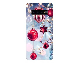 Husa Silicon Soft Upzz Print X-mass Samsung S10+ Plus Model Craciun 1