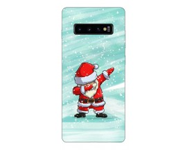 Husa Silicon Soft Upzz Print X-mass Samsung S10 Model Craciun 6