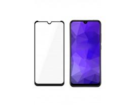 Folie Nano 3mk Flexible Glass Max Compatibil Cu Samsung Galaxy M21, Transparenta Cu Margine Neagra