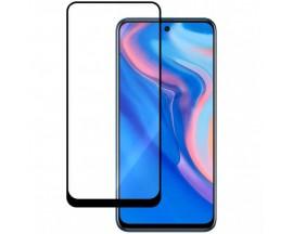 Folie 6d Full Cover Full Glue Upzz Pro Glass Huawei P Smart 2021, Cu Adeziv Pe Toata Suprafata Foliei Negru