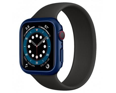 Carcasa Spigen Liquid Thin Fit Compatibila Cu Apple Watch 4/5/6/SE (40MM), Albastru Metalic