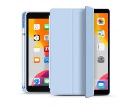 Husa Upzz Tech Smartcase Sc Pen Ipad 7 / 8, 10.2inch, 2019 / 2020, Sky Blue