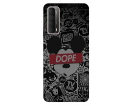 Husa Silicon Soft Upzz Print Huawei P Smart 2021 Model Dope