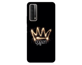 Husa Silicon Soft Upzz Print Huawei P Smart 2021 Model Queen