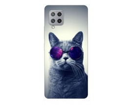 Husa Silicon Soft Upzz Print Samsung Galaxy A42 5g Model Cool Cat