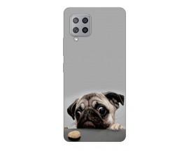 Husa Silicon Soft Upzz Print Samsung Galaxy A42 5g Model Dog