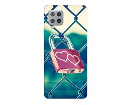 Husa Silicon Soft Upzz Print Samsung Galaxy A42 5g Model Heart Lock