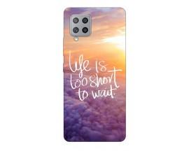 Husa Silicon Soft Upzz Print Samsung Galaxy A42 5g Model Life