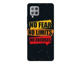 Husa Silicon Soft Upzz Print Samsung Galaxy A42 5g Model No Fear