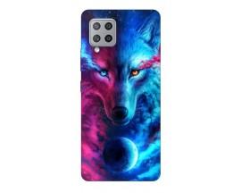 Husa Silicon Soft Upzz Print Samsung Galaxy A42 5g Model Wolf