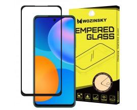 Folie Sticla 5d Wozinsky Tough Screen Full Glue Pentru  Huawei  P Smart 2021, Transparenta Cu Margine Neagra