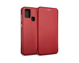 Husa Flip Carte Cu Magnet Lux Upzz Samsung Galaxy A20e Rosu