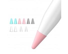 Protectie Apple Pencil 1 / 2 Pentru Varf Din Silicon , 10 bucati , Multicolor
