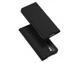 Husa Flip Cover Premium Duxducis Skinpro Huawei P40 Lite 5G, Negru