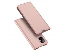 Husa Flip Cover Premium Duxducis Skinpro Samsung Galaxy S20 Fe, Roz