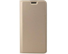 Husa Flip Cover Premium Duxducis Skinpro Samsung Galaxy A42 5g, Gold