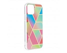 Husa Upzz Silicone Marble Cosmo Compatibila Cu iPhone 11 Pro Model 4
