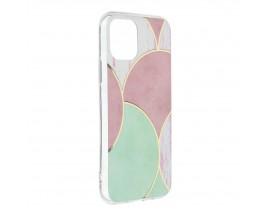 Husa Upzz Silicone Marble Cosmo Compatibila Cu iPhone 12 Mini, Model 5