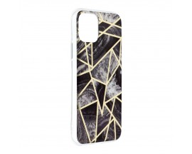 Husa Upzz Silicone Marble Cosmo Compatibila Cu iPhone 12 Mini, Model 7