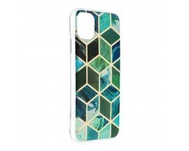 Husa Upzz Silicone Marble Cosmo Compatibila Cu iPhone 12 Mini, Model 8