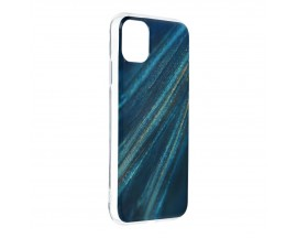 Husa Upzz Silicone Marble Cosmo Compatibila Cu iPhone 12 Mini, Model 10