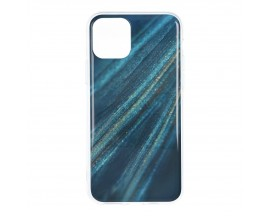 Husa Upzz Silicone Marble Cosmo Compatibila Cu iPhone 12 Pro Max, Model 10