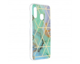 Husa Upzz Silicone Marble Cosmo Compatibila Cu Samsung Galaxy A20e, Model 3