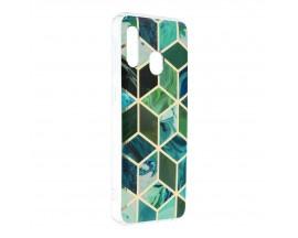Husa Upzz Silicone Marble Cosmo Compatibila Cu Samsung Galaxy A20e, Model 8