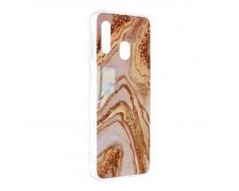 Husa Upzz Silicone Marble Cosmo Compatibila Cu Samsung Galaxy A20e, Model 9
