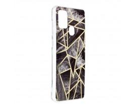 Husa Upzz Silicone Marble Cosmo Compatibila Cu Samsung Galaxy A21s, Model 7